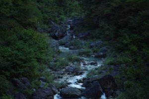 霊峰白山の伏流水